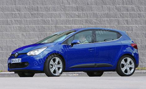 Деталі про новий Renault Clio