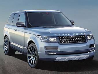 Новий Range Rover схудне на 400 кілограмів