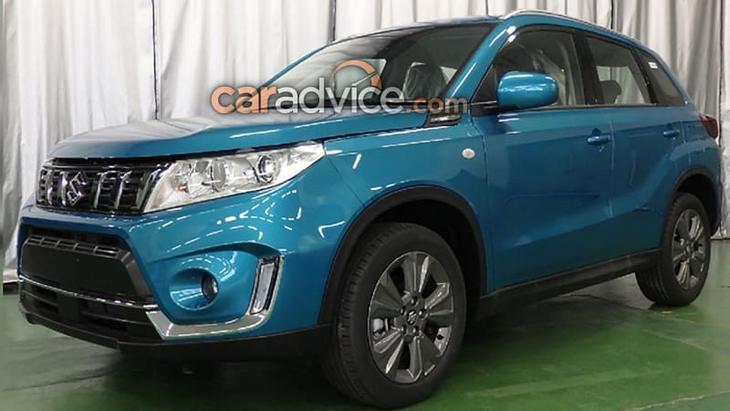 У мережу злили фото оновленого Suzuki Vitara