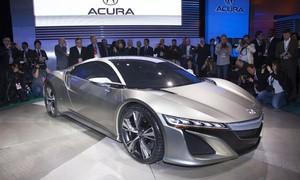 Серійна Acura NSX дебютує в Детройті
