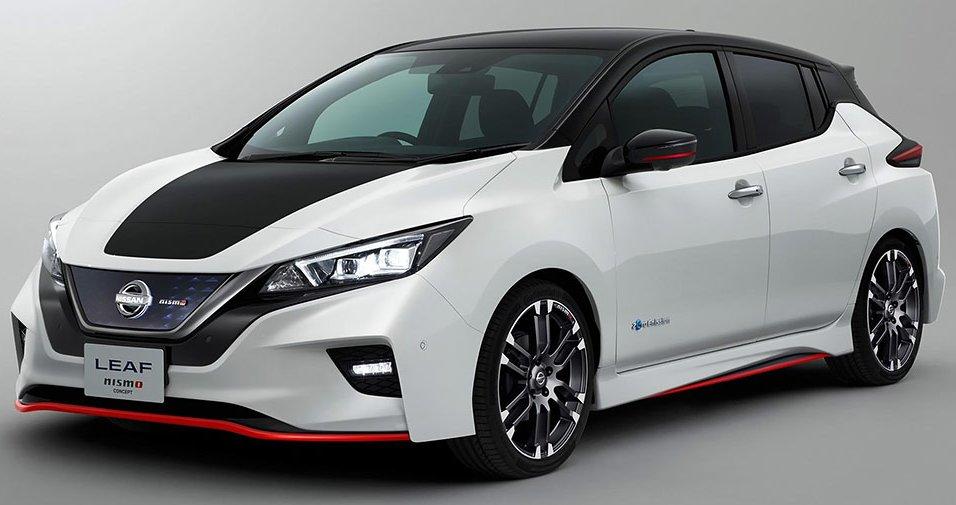 Nissan Leaf 2019: офіційна презентація спортивного електрокара