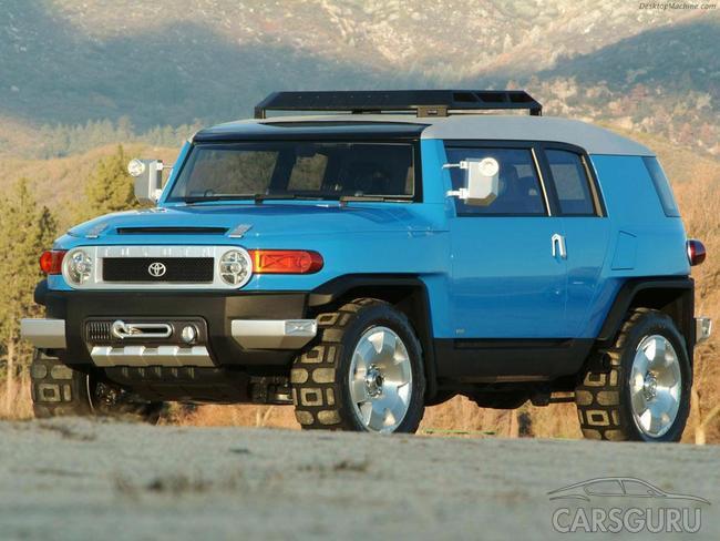 Toyota FJ Cruiser отримає спецверсію