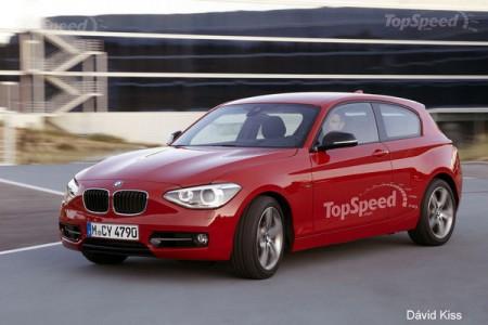 BMW випустить тридверну модель 1-Серії нового модельного ряду