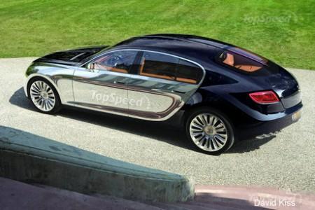 Концептуальна Bugatti Galibier