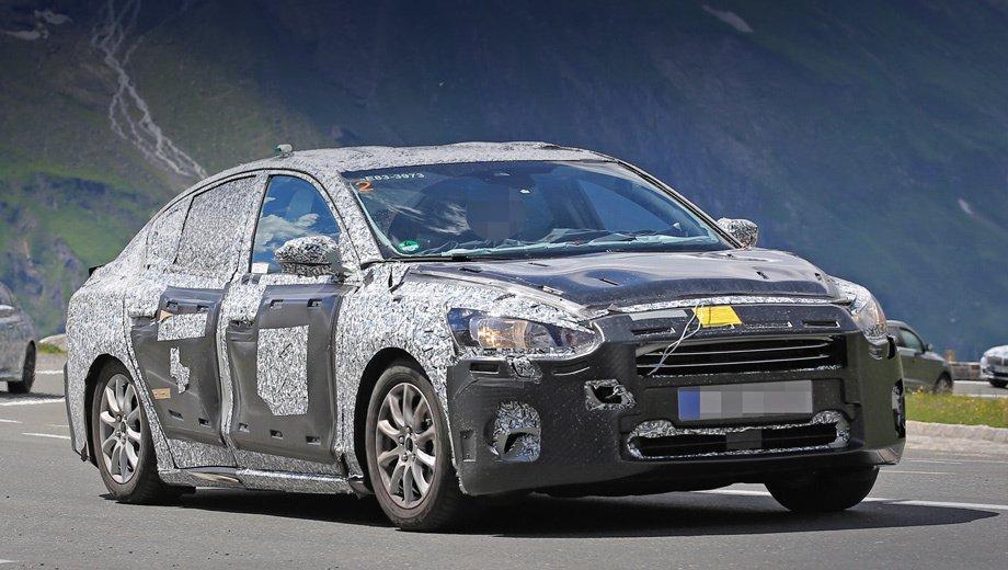 Ford Focus 2018: перші зображення нового автомобіля
