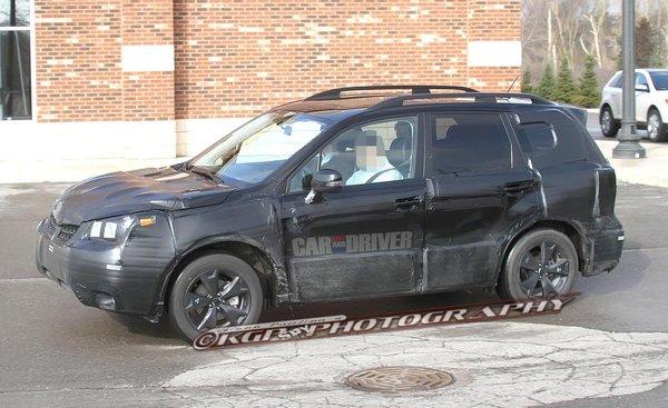 Шпигуни зловили новий Subaru Forester