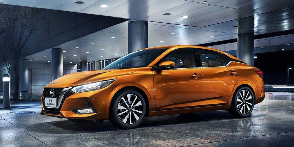 Nissan презентувала новий седан Sentra