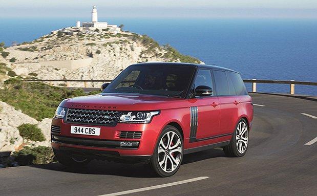 Range Rover 2017: інформація про оновлений кроссовер