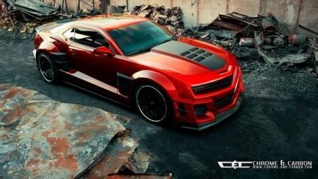 Неповторний Chevrolet Camaro Guyver від Chrome & Carbon