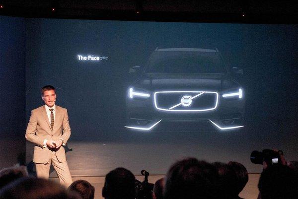 Volvo показала перші зображення XC90
