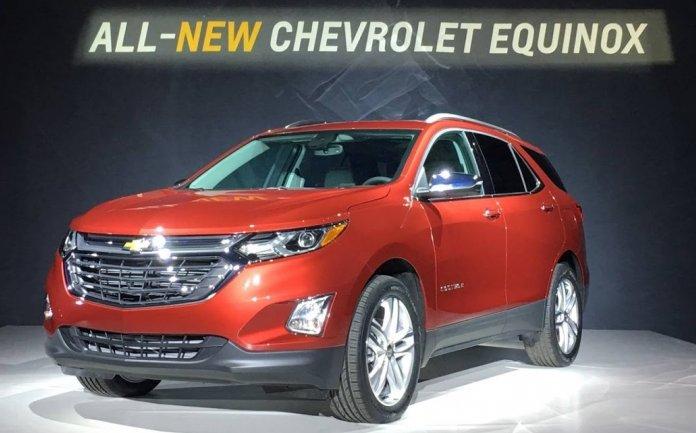 Новий кросовер Chevrolet Equinox 2018 модельного року