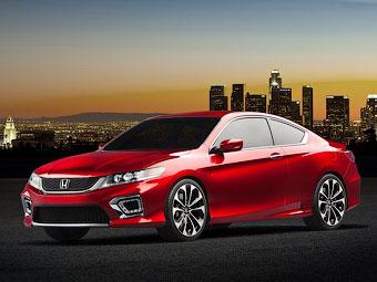 У Детройті Honda представила концептуальний варіант купе Accord