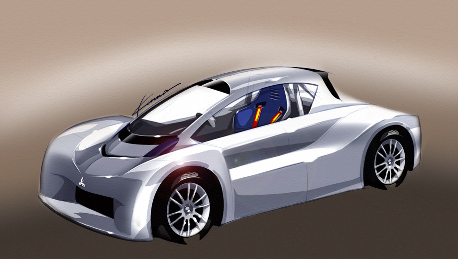 Фірма Mitsubishi перетворить i-MiEV в спортпрототип
