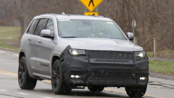 Jeep тестує новий Grand Cherokee