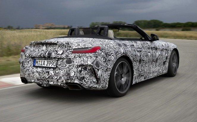 BMW офіційно показала новий родстер Z4