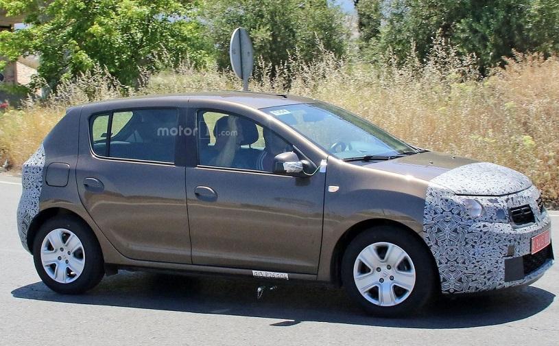 Dacia Sandero 2017: перші фото новинки