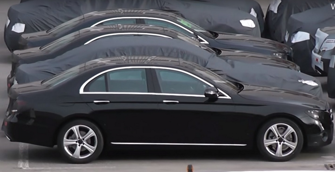 Mercedes E-Class 2016: