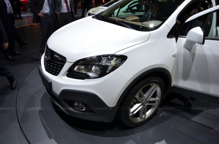 Женева 2012: кросовер Opel Mokka