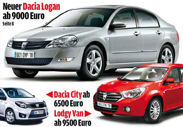 Нове покоління Dacia Logan