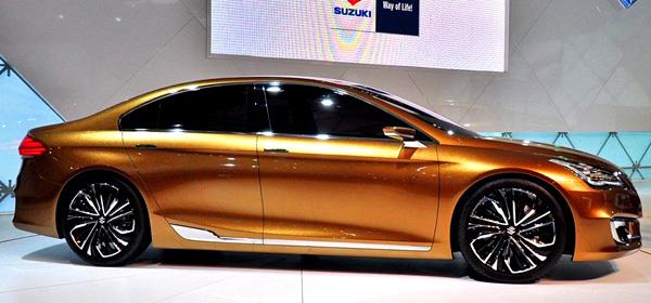 Компанія Suzuki презентувала новий седан
