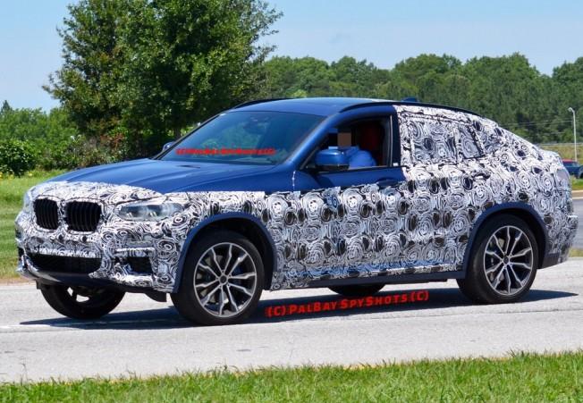 Новий BMW X4: перші фото кросовера