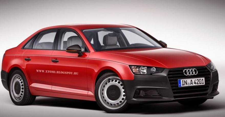 Audi A4 2016: перше зображення седана