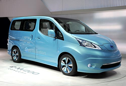 Другим електромобілем Nissan виявився мінівен