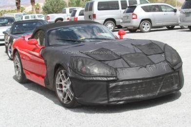 Шпигунські фото нового Dodge Viper