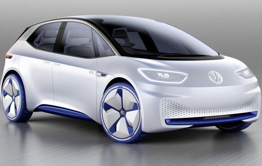 Volkswagen показав електромобіль I. D. Concept