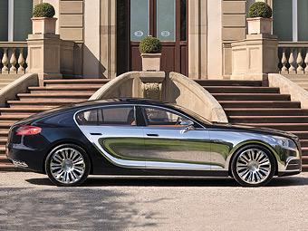 Bugatti повністю змінить дизайн суперседана Galibier