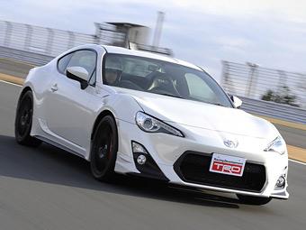 Компанія Toyota підготувала для купе GT 86 заводський тюнинг