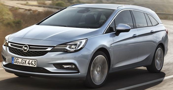 Opel презентував новий універсал Astra