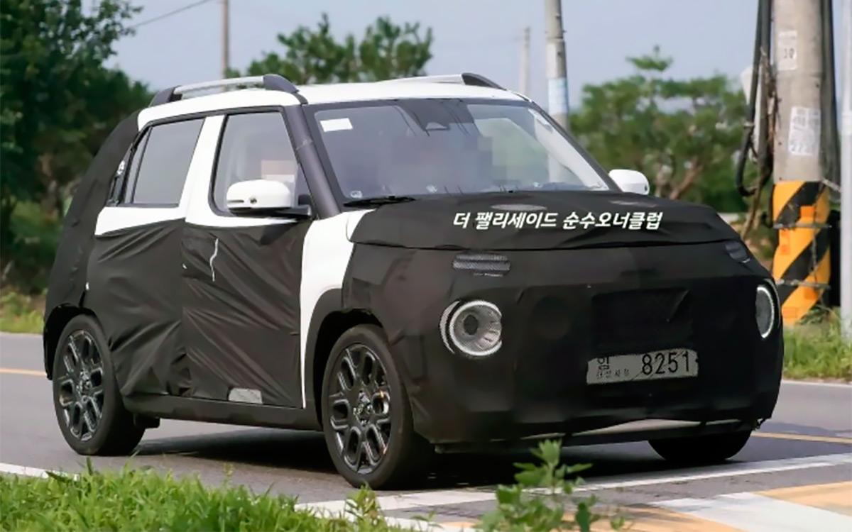 Hyundai Casper - найменший кросовер від корейців