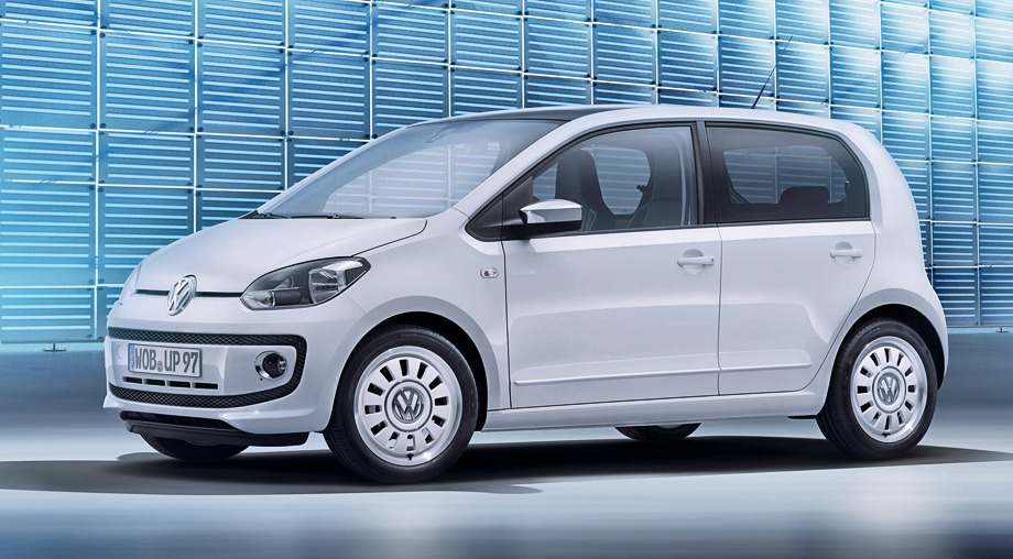 Німці додали малятку Volkswagen up! пару дверей