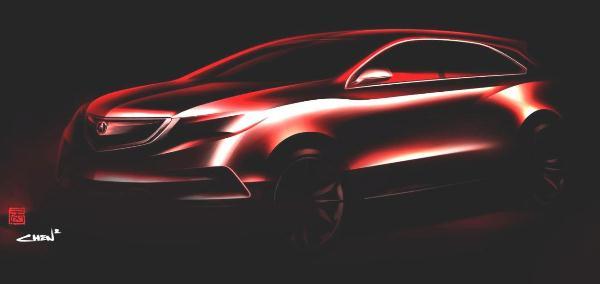 Нова Acura MDX: перше зображення