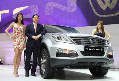 Корейці визначилися з появою оновленого SsangYong Rexton