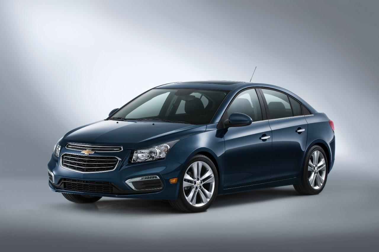 Chevrolet Cruze 2015 - офіційні зображення