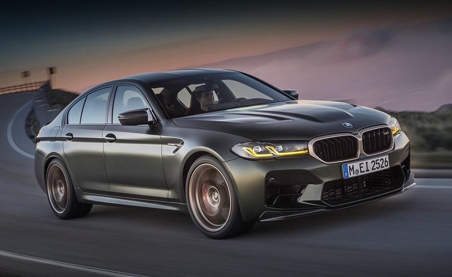 Седан BMW M5: 3,3 секунди до