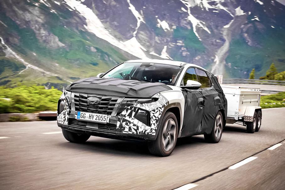 З'явилося відео з фінальних випробувань нового Hyundai Tucson