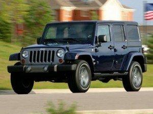 У США дебютувала «військова» модифікація Jeep Wrangler