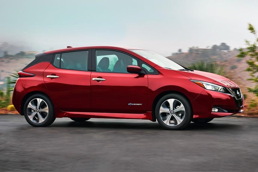 Nissan Leaf 2018: офіційні фото, відео та інформація