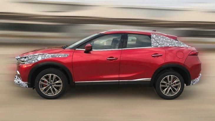 Кросс-купе Mazda CX-4
