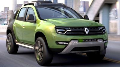 Кросовер Dacia Duster змінить зовнішність