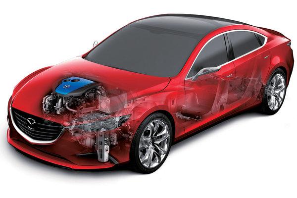 Автомобілі Mazda будуть запасати електрику в конденсаторах