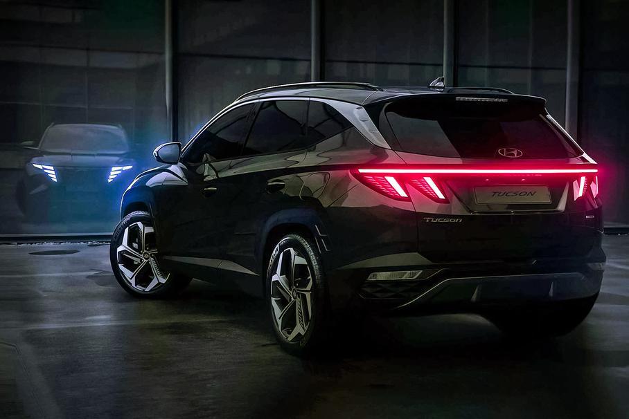 Hyundai показав зовнішність і інтер'єр нового Tucson