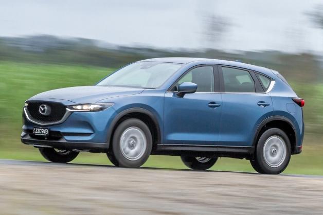 Новий кросовер Mazda CX-5 виходить на ринок