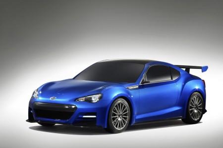 Subaru BRZ Concept STI: нові фотографії та подробиці