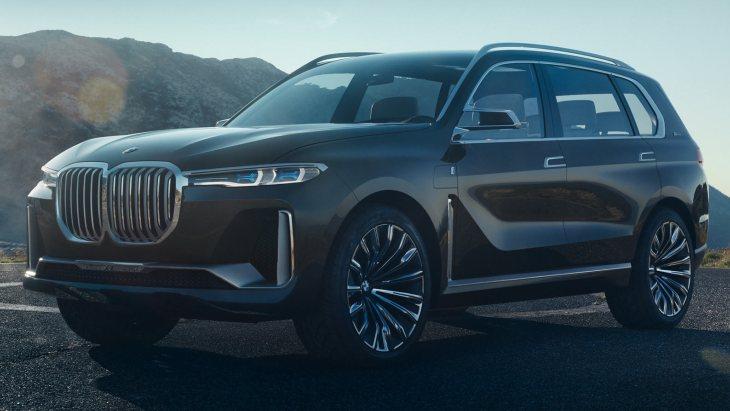 У мережу «витекли» офіційні фото BMW X7