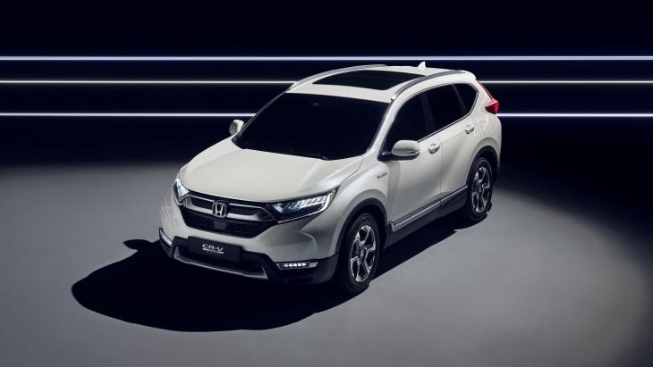 Honda CR-V Hybrid: компанія показала новий
