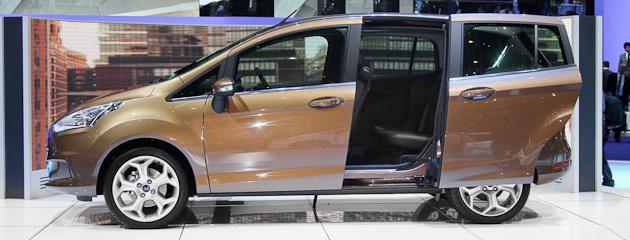 Ford показав серійний B-Max